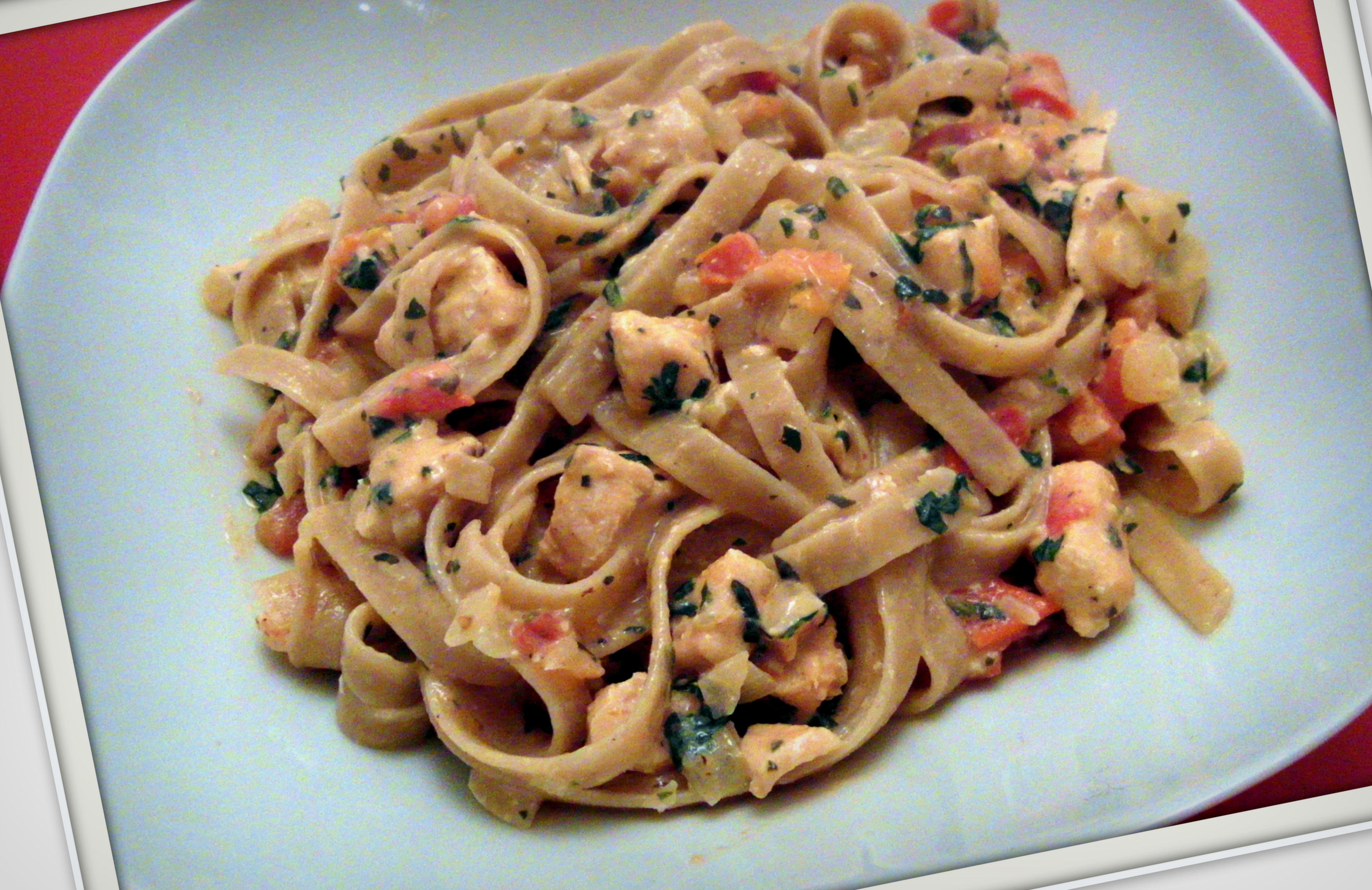 it's pasta time – lachsnudeln
